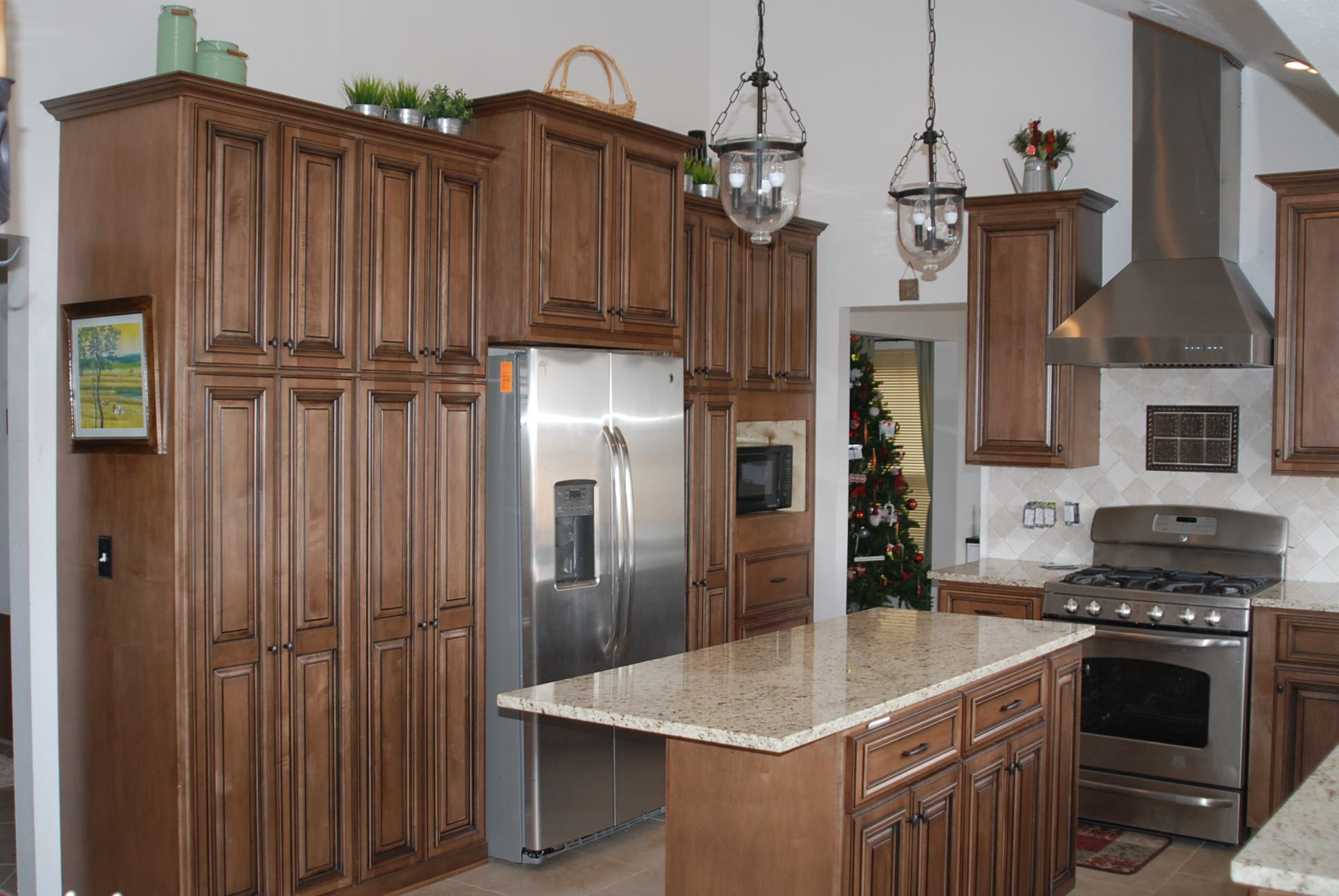 Littleton Kitchen-Overall view from sink