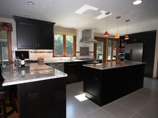 Littleton, MA Kitchen Renovation transitional-kitchen