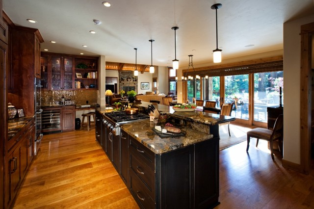 Living Spaces traditional-kitchen