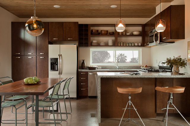 LivingHomes C6 designed by Jamie Bush in Palm Springs Modernism Week modern-kitchen