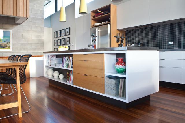 Livingstone St House Refurbishment Modern Kitchen Auckland By Caaht Studio Architects
