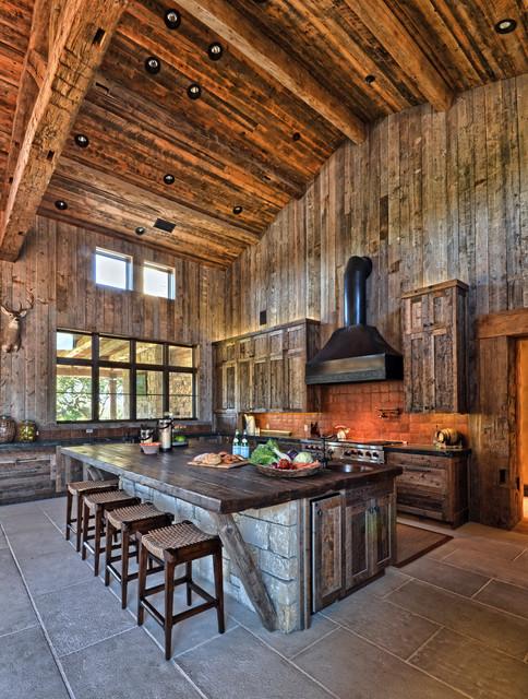 Llano Ranch Rustic Kitchen Austin By Cornerstone