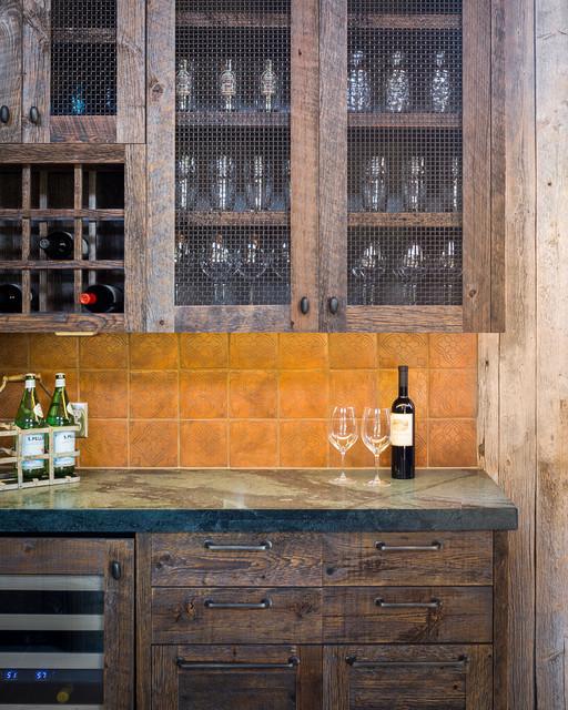 Llano ranch rustic kitchen austin by cornerstone for Kitchen design 01532