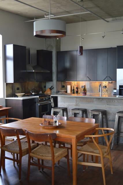 Lo Hi Loft Industrial Kitchen Denver By Design