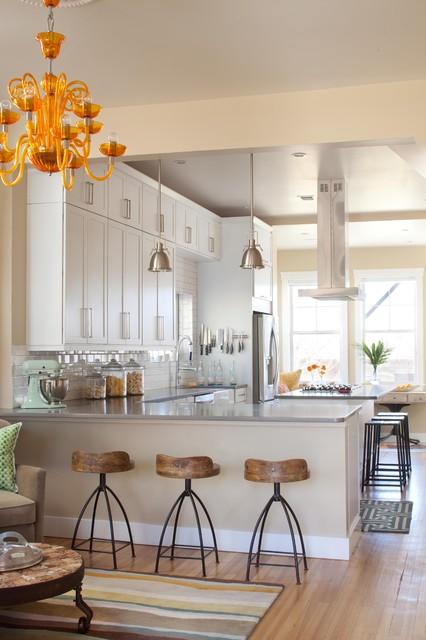 Lo-Hi Residence transitional-kitchen