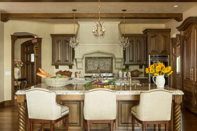 Locust Hills Drive Residence Traditional Kitchen
