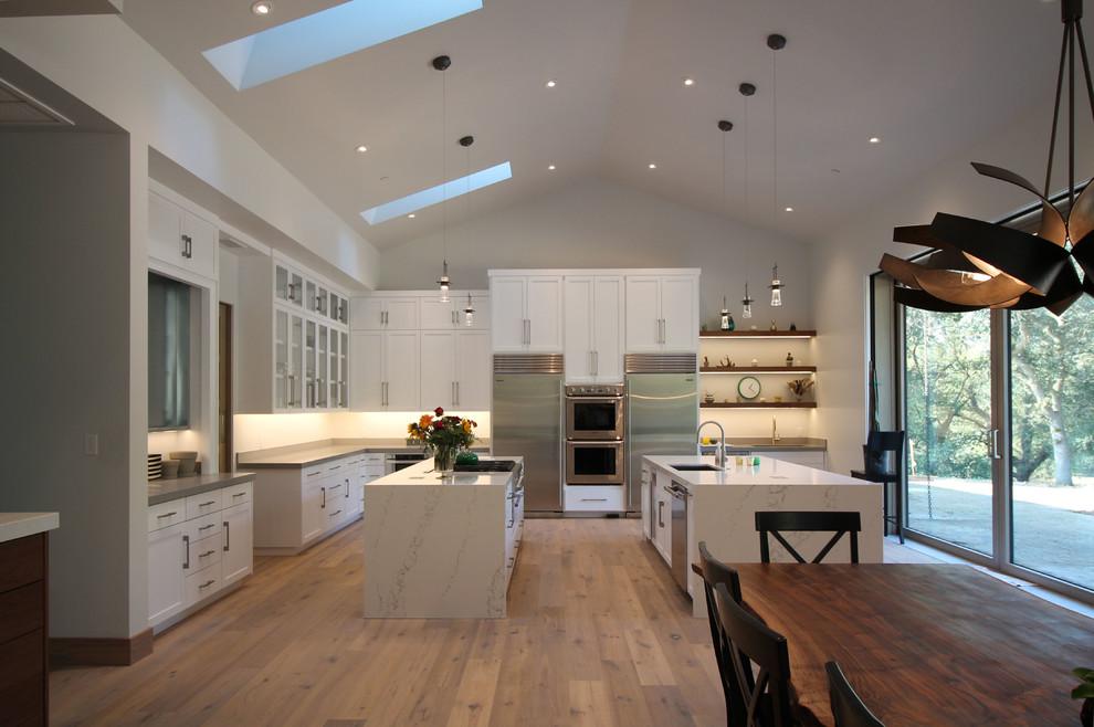 Lodi Vineyard Modern - Modern - Kitchen - Sacramento - by ...