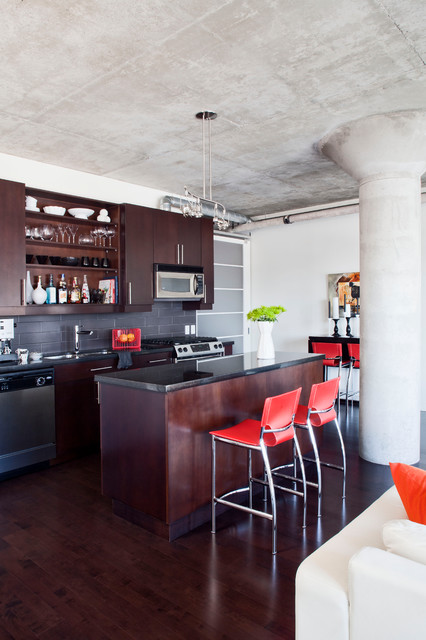 Loft 001 Modern Kitchen Toronto By Rad Design Inc