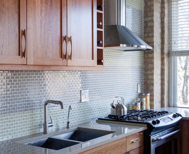Kitchen Stove Backsplash Ideas Pictures Tips From Hgtv: Loft Kitchen Backsplash