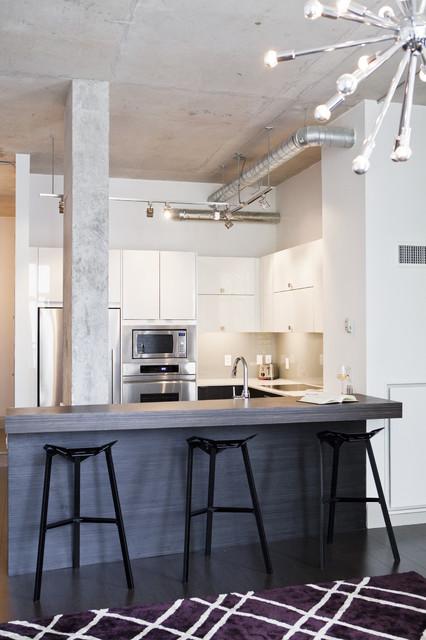Loft Kitchen - Industrial - Kitchen - toronto - by BiglarKinyan Design ...