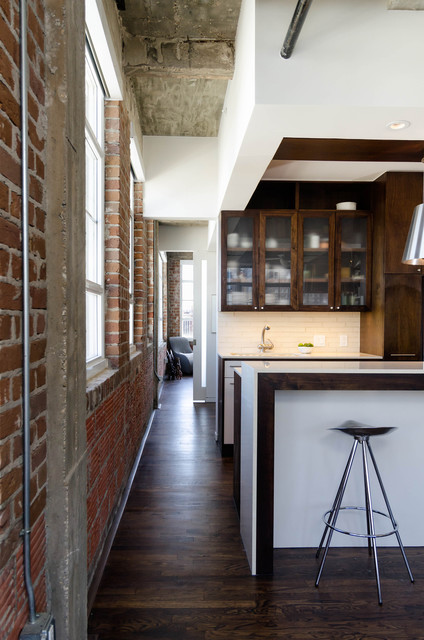 Loft Kitchen Industrial Kitchen Houston By Content