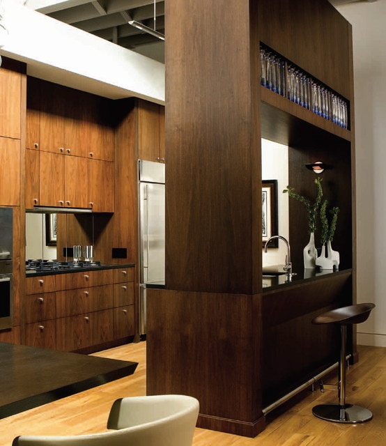 Loft Kitchen contemporary-kitchen
