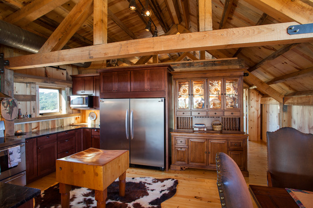 Loft Living In A Nebraska Barn Home Traditional