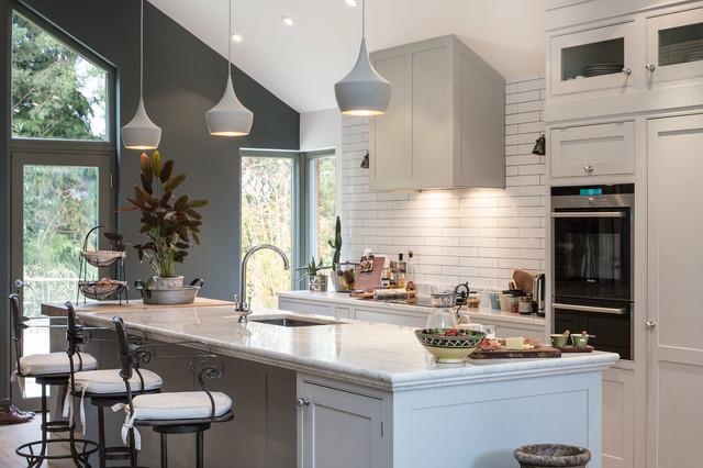 Loft Style Kitchen In Avoca Valley Transitional