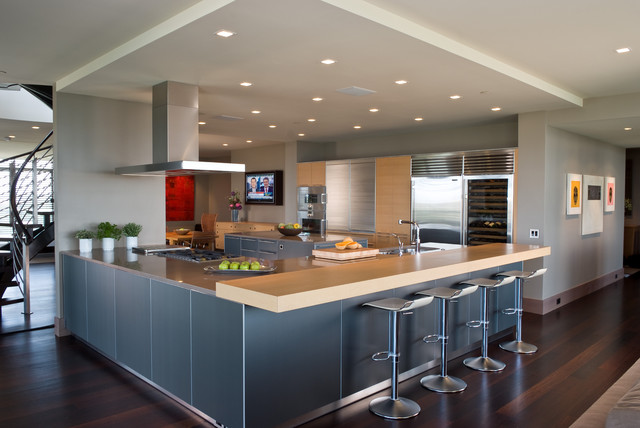 Modern Kitchen Layout Grohe Design For Remodeling Ideas Motiq