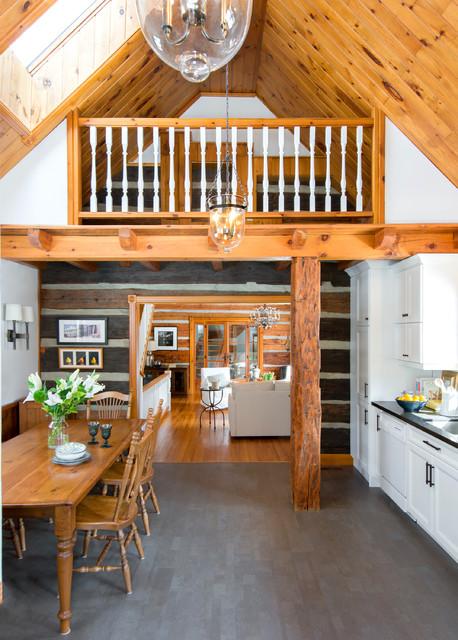 Log Cabin Kitchen Rustic Kitchen Toronto By FIG