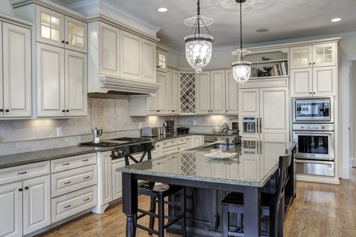 Glamorous Gray Kitchens TIDBITSTWINE - Kitchen designs with gray cabinets