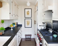 Lombardy Lane, Laguna Beach beach-style-kitchen