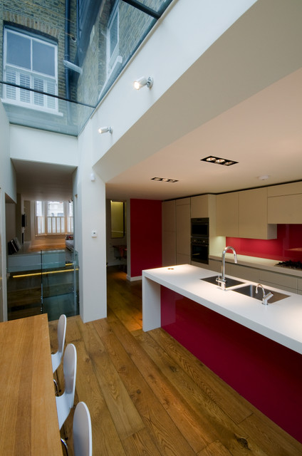 London apartments modern kitchen other metro by for Modern kitchen london