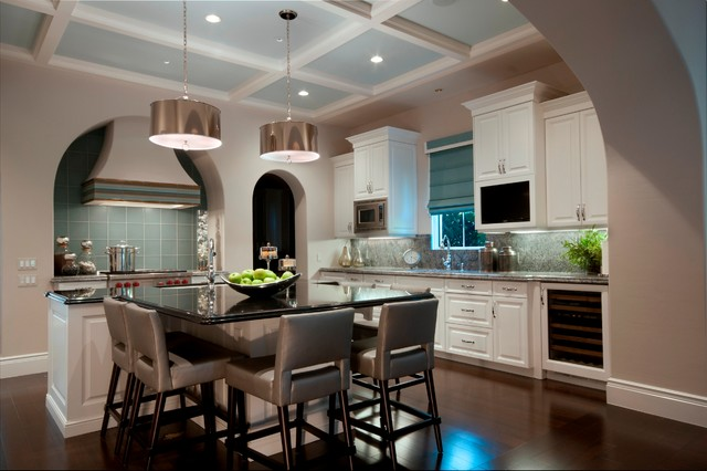 contemporary kitchen by London Bay Homes