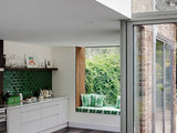 eclectic kitchen Light and Personality Fill a Remodeled London Home (9 photos)