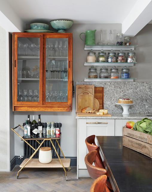 London Loft Apartment di-transizione-cucina