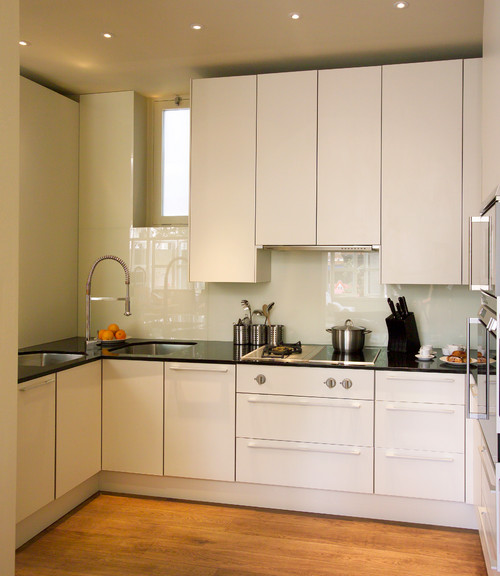 Smart ways to make the most of a compact kitchen for Kitchen units to ceiling