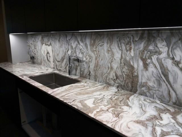 London Residence In Avalanche Quartzite Polished