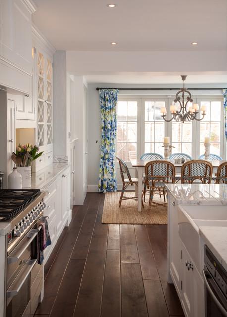 London Townhouse transitional-kitchen