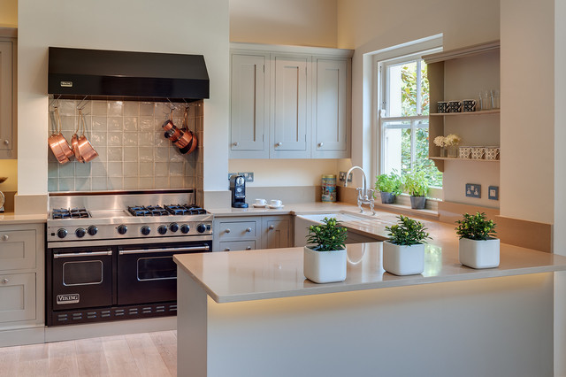 How To Design An Ideal U Shaped Kitchen