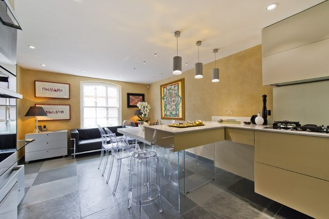 London uk modern kitchen london by down under faux for Modern kitchen london