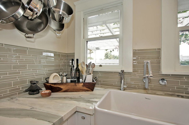 Long Beach - Bungalow craftsman-kitchen