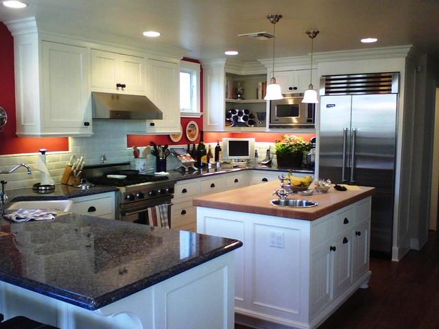 Beach Style  Kitchen  orange county  by The Kitchen Design Center