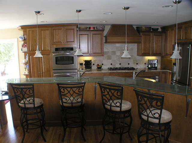 Long Circle eclectic kitchen