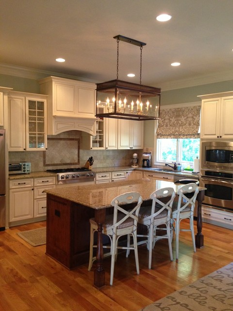 Long Hanging Lantern Traditional Kitchen Charlotte By - Hanging lanterns for kitchen