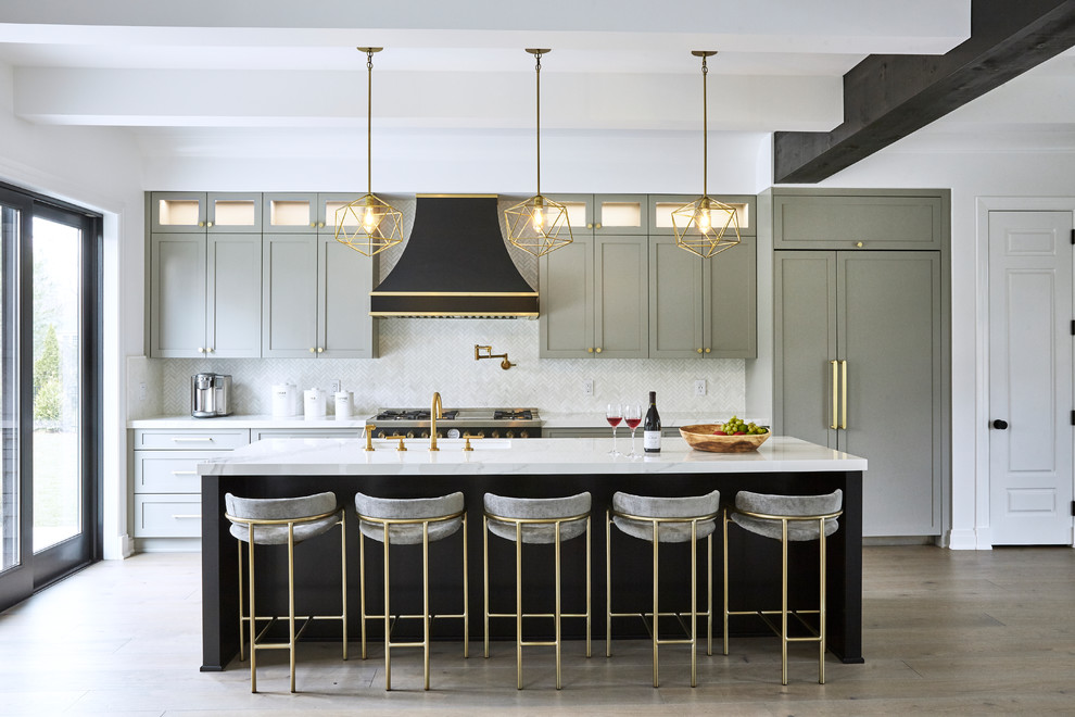 Long Island Residence - Contemporary - Kitchen - New York ...