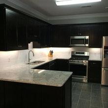 Long Kitchen/Cville residence
