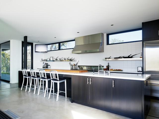 Long Valley Ranch - Modern - Kitchen - los angeles - by Marmol Radziner