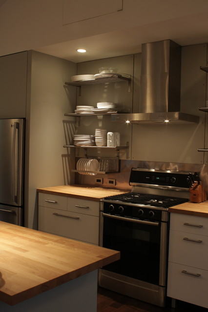 Longhouse modern kitchen portland maine by 30x40 design workshop - Kitchen design portland maine ...