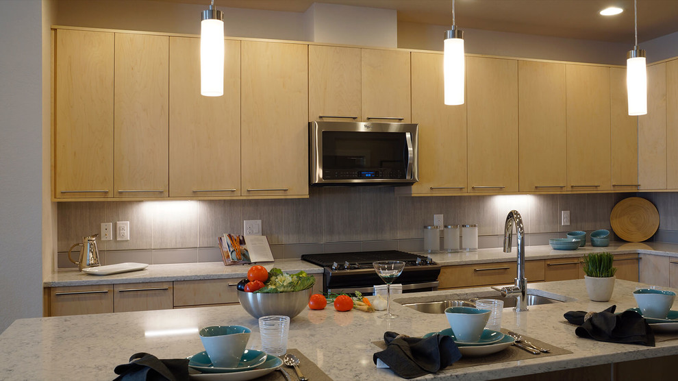 Longmont - Contemporary Townhomes - Prospect New Town ...