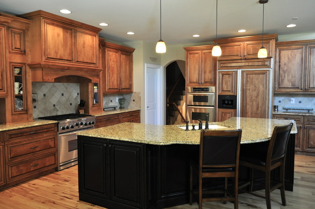 Longmont Custom Home traditional-kitchen