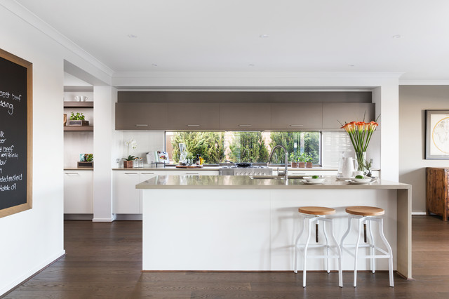 Lookbook Provincial Trader Contemporary Kitchen Melbourne By Metricon