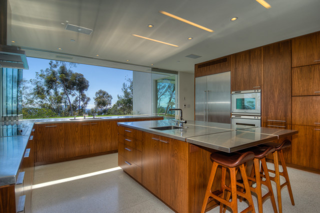 Lookout Residence modern-kitchen