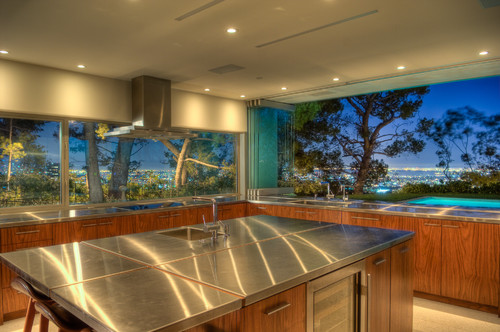 Lookout Residence modern kitchen