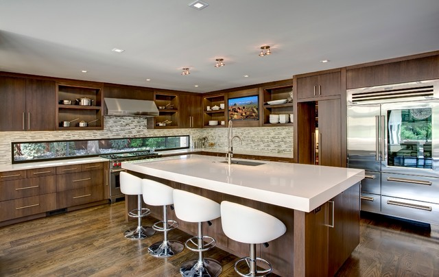 Loose Park Area Residence Contemporary Kitchen Other