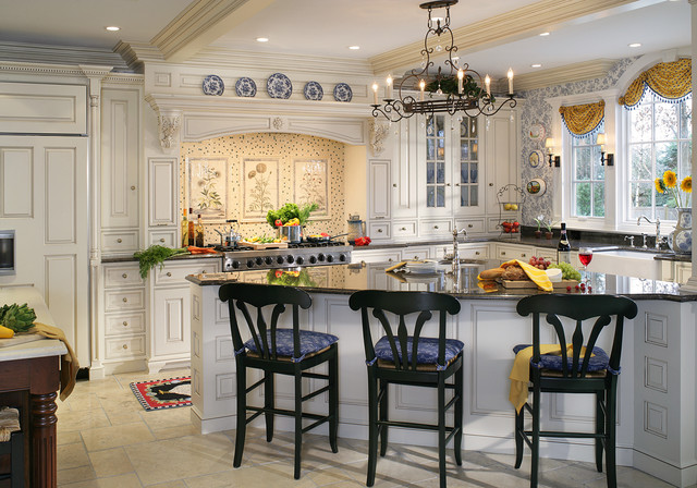 Lorriane Traditional Kitchen New York By Canterbury Design Kitchen Interiors