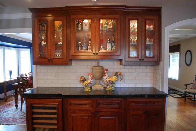 Los Altos custom home traditional-kitchen