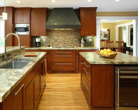 Frank lloyd wright kitchen design ideas remodels photos for Frank lloyd wright kitchen ideas