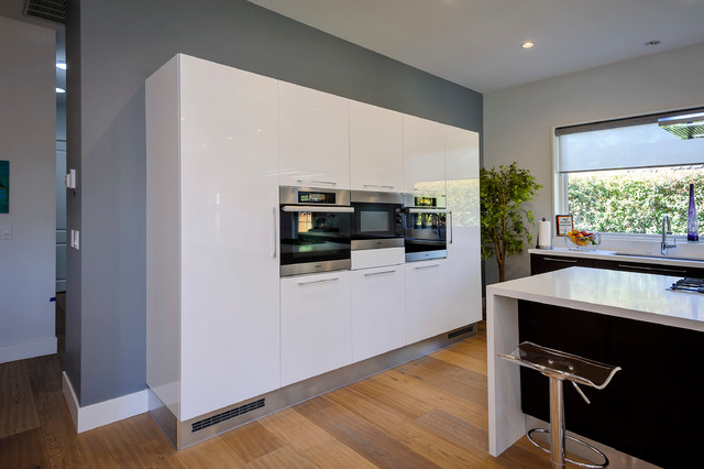 Los Altos Kitchen remodeling ARAN Cucine cabinets. DALI and ERIKA collections. modern-kitchen