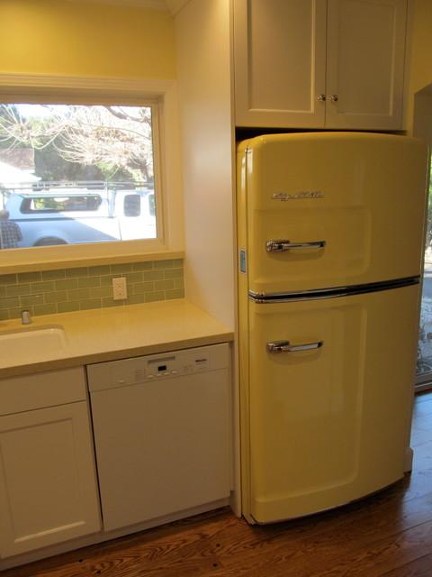 Los altos kitchen with retro appliances eclectic - Kitchen appliances san francisco ...